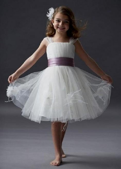 White And Lavender Flower Girl Dresses Looks B2b Fashion