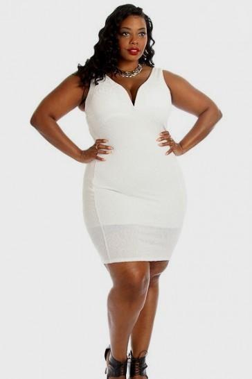 White Bodycon Dress Plus Size 2016 2017 B2b Fashion