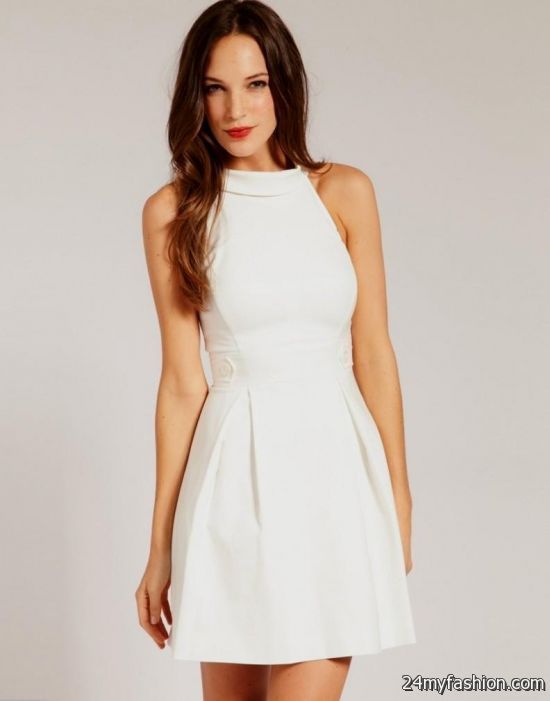 white casual dresses 2016-2017 » B2B Fashion