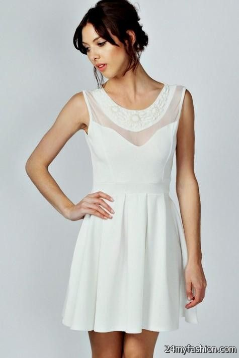 Graduation Dresses For High School White 15