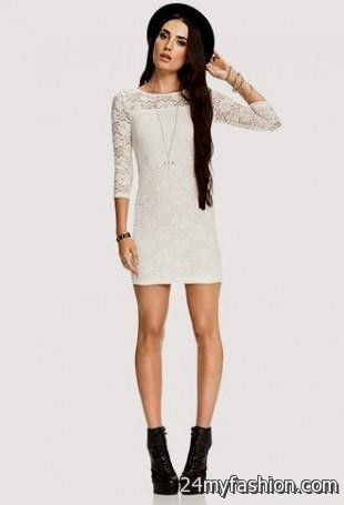 323ee42e6e6f white lace bodycon dress forever 21 looks