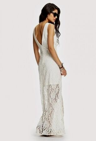 Special Dresses : White Lace Dress Forever 21 White Lace Dress ...
