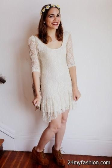 White Lace Dress Urban Outfitters Looks B2b Fashion