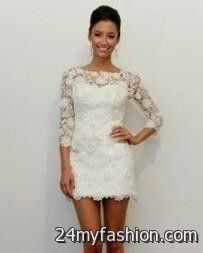 white lace summer dress with cowboy boots looks | B2B Fashion