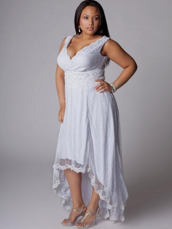 white plus size beach dress looks | B2B Fashion
