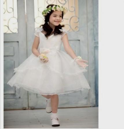 white princess dress for kids 2016-2017 » B2B Fashion