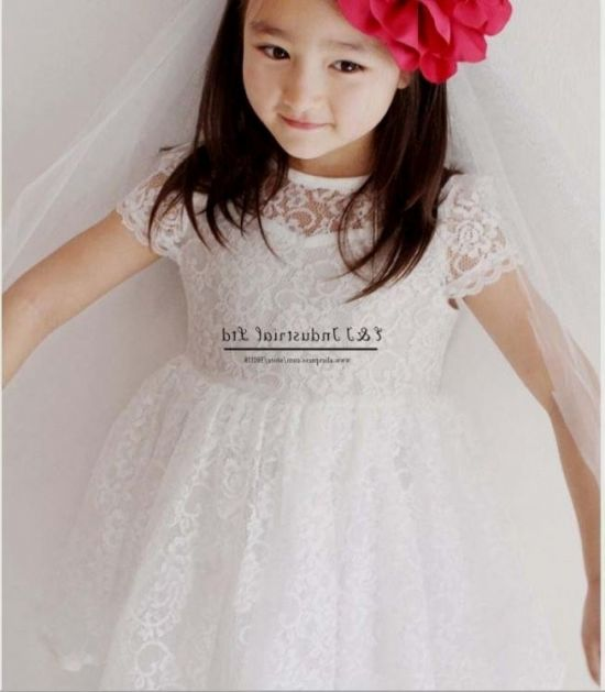 309723c7636b white princess dress for kids looks