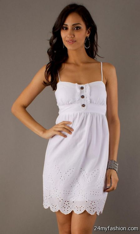 white short casual dresses 2016-2017 » B2B Fashion