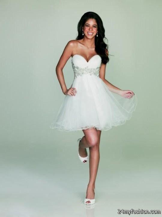 White Fun Dress
