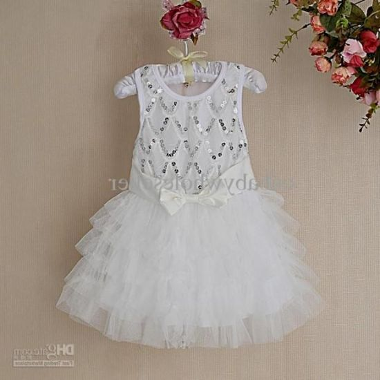 ddc943096bdd white sparkly dress kids looks
