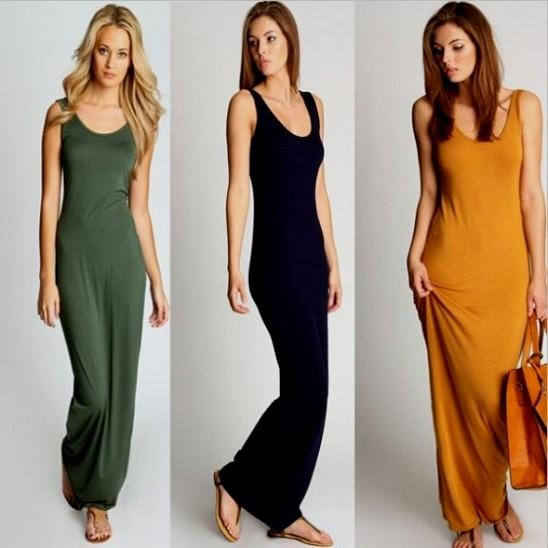 Tank Top Style Dresses