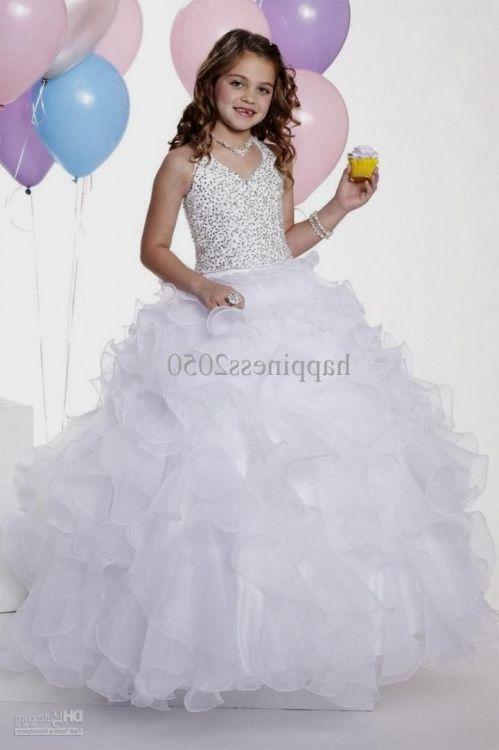 White Wedding Dresses For Kids 10 12 Looks B2b Fashion
