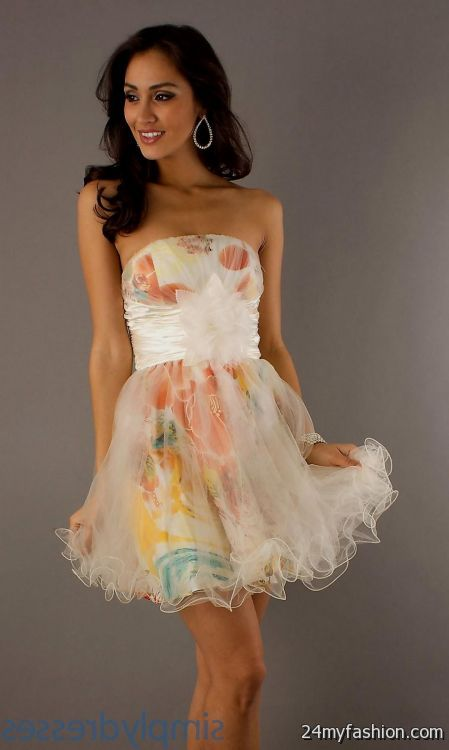 Winter Semi Formal Dresses For Teenage Girls Looks  B2B -6205