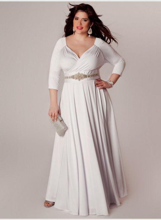 Winter wedding dresses plus size 2016 2017 b2b fashion for Size 24 dresses for wedding