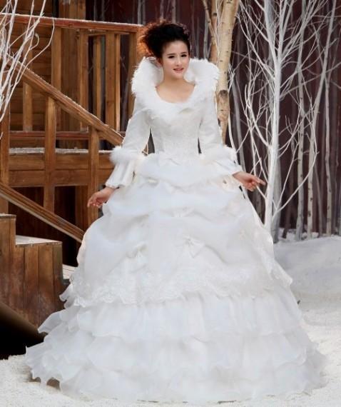 Зимние Свадебные Платья 2017