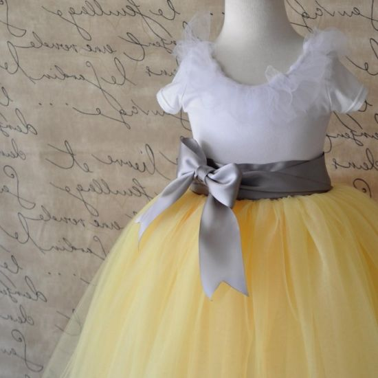 Yellow and grey flower girl dresses 2016 2017 b2b fashion you can share these yellow and grey flower girl dresses on facebook stumble upon my space linked in google plus twitter and on all social networking mightylinksfo