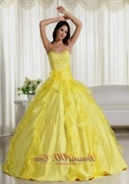 yellow ball gowns under 100 dollars 2016-2017 » B2B Fashion