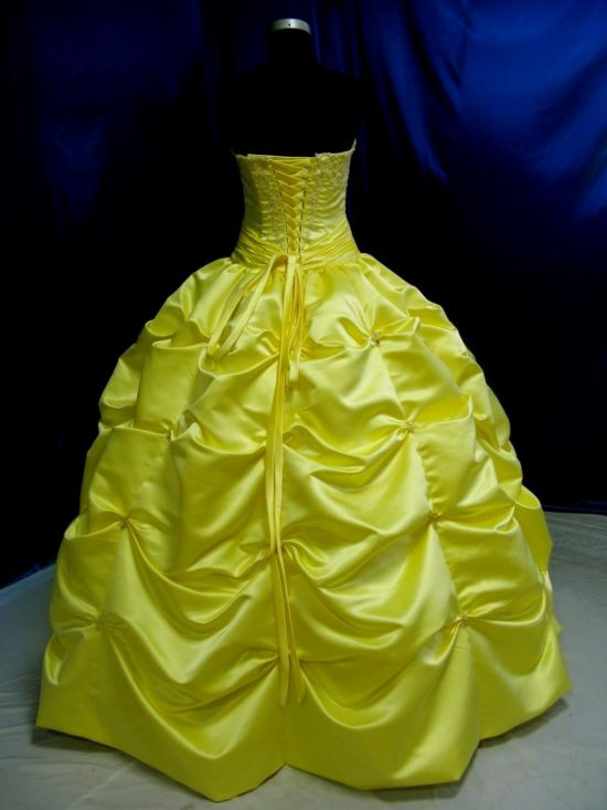 Yellow Ball Gowns Under 100 Dollars Looks B2b Fashion
