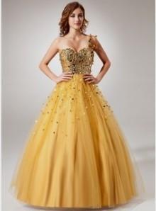 yellow ball gowns under 100 dollars 2016-2017 | B2B Fashion