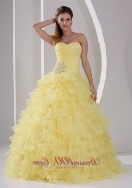 yellow ball gowns under 100 dollars 2016-2017 » B2B Fashion