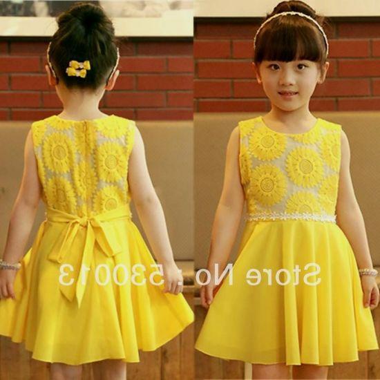 Yellow Dresses For Kids Looks B2b Fashion