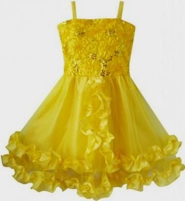 yellow dresses for little girls 2016-2017 » B2B Fashion