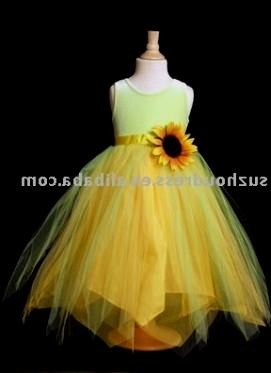 Yellow flower girl dresses sunflower 2016 2017 b2b fashion with that in mind browse our collection of cute outfits made just for your little ones you can share these yellow flower girl mightylinksfo