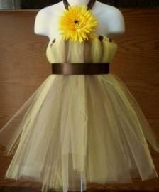 Yellow dresses collection yellow and brown flower girl dresses yellow and brown flower girl dresses mightylinksfo