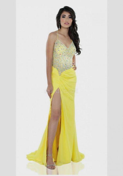 yellow mermaid prom dresses 2016-2017 » B2B Fashion