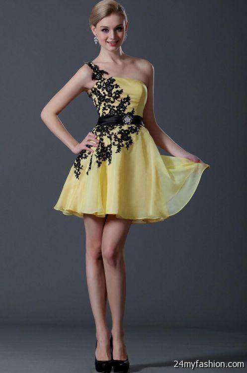 yellow party dress 2016-2017 | B2B Fashion
