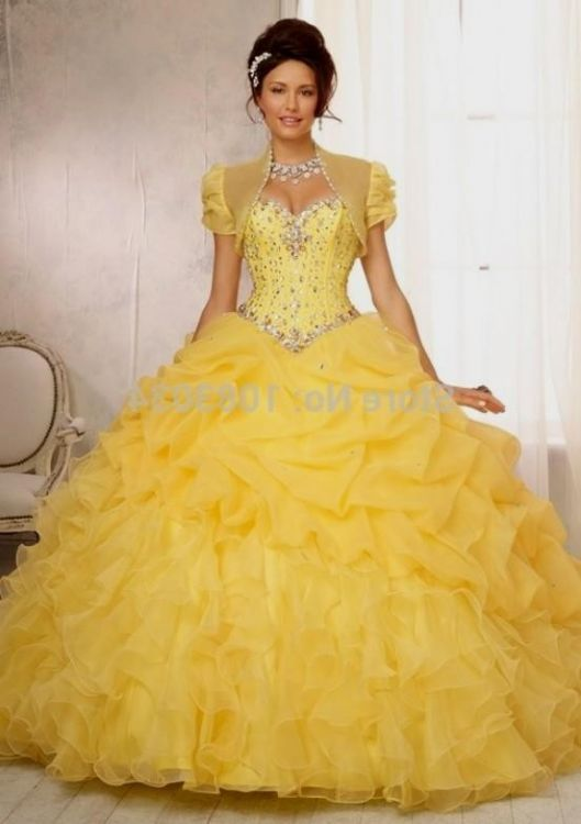 yellow quinceanera dresses 2016-2017 » B2B Fashion