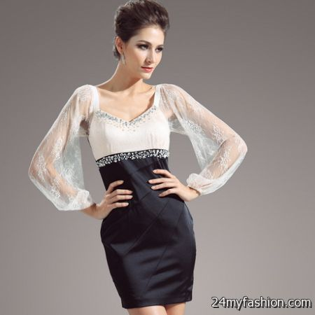 Evening Short Dresses 2018 52
