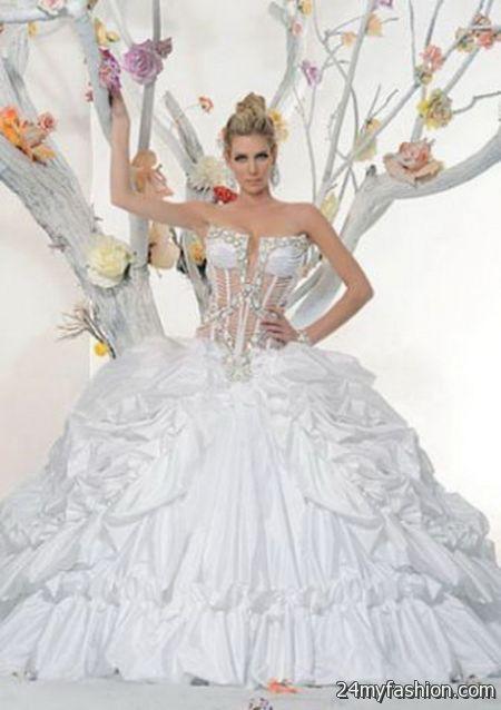 Exotic wedding dresses 2017-2018 | B2B Fashion