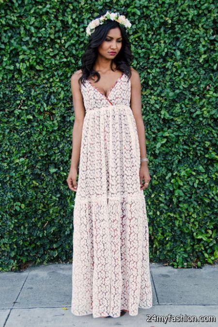 Gypsy maxi dress 2017-2018 » B2B Fashion