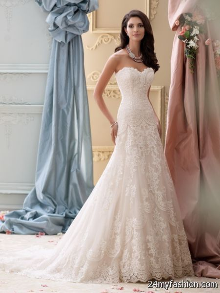 wedding dress lace 2018