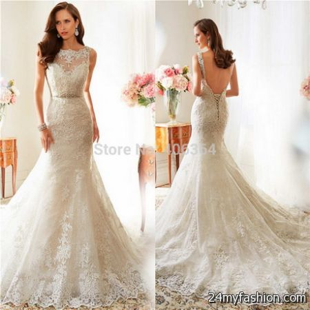 Leaves Wedding Dress
