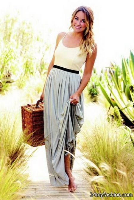 Lauren conrad maxi dress 2017-2018 » B2B Fashion