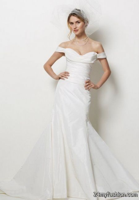 Low Cost Wedding Dresses Nyc : Off the shoulder wedding dresses b fashion