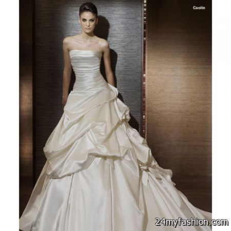 Off White Wedding Dresses 2017 2018