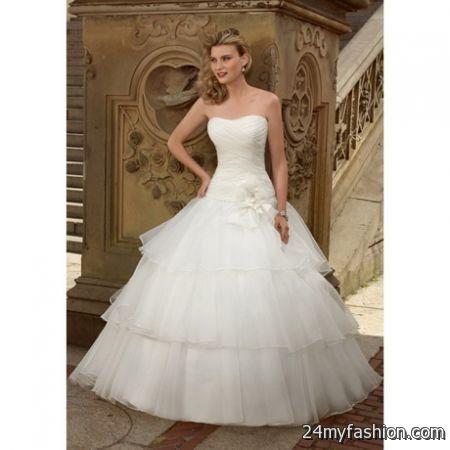 Images of Wedding Dresses Off White - Reikian