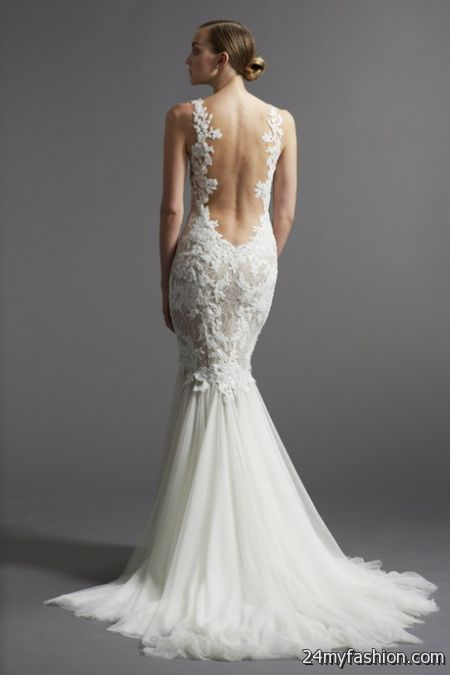 Low Cost Wedding Dresses Nyc : Open back wedding dresses b fashion