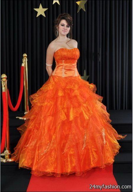 Orange wedding dresses 2017-2018 | B2B Fashion