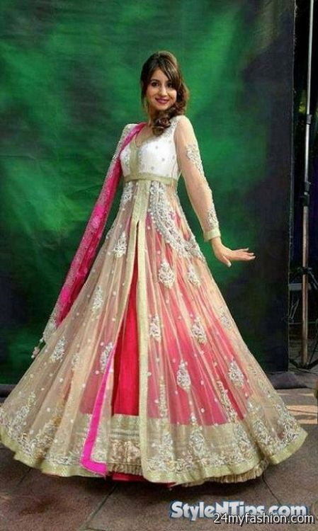 Maxi style dresses in pakistan 2018 fashion