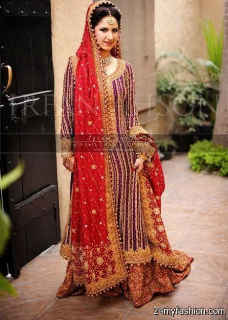 Bridal dresses in pakistani 2018 pictures