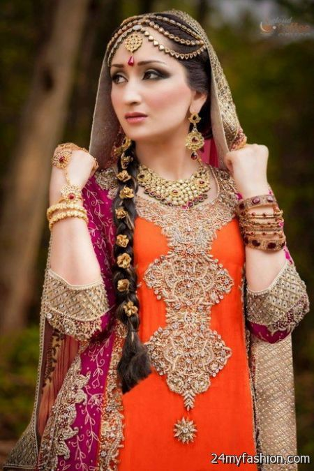 Pakistani Bridal Dresses Pictures 2017 2018 B2b Fashion