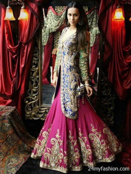 Bridal dresses 2018 pakistani images flower girl dresses for Pakistani designer wedding dresses 2017
