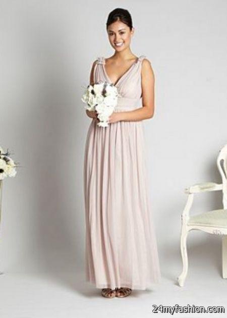 Pale pink maxi dress 2017-2018 » B2B Fashion