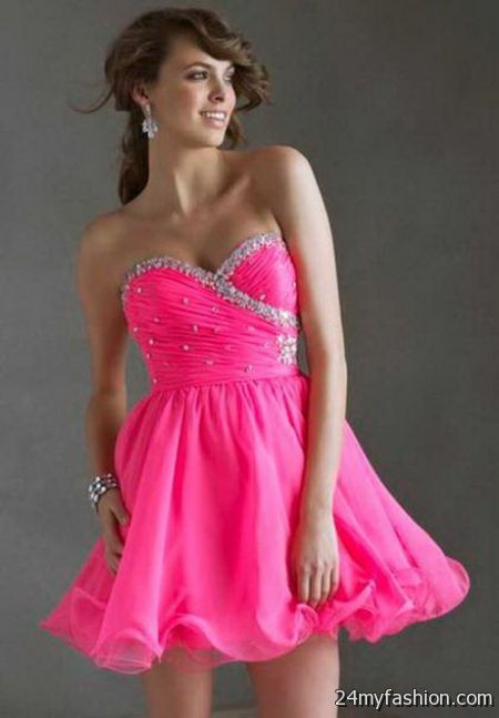 Pink homecoming dresses 2017 2018 b2b fashion for Pink homecoming dresses