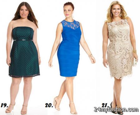 Plus size dresses for wedding guests 2017-2018 | B2B Fashion