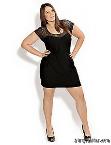Plus Size Little Black Dresses 2017 2018 B2b Fashion